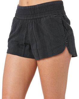 BLACK WOMENS CLOTHING HURLEY SHORTS - CK6735010
