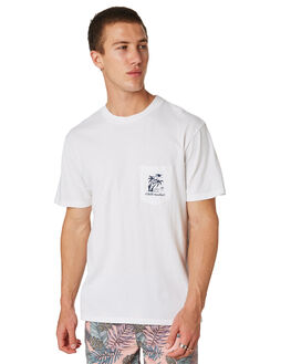 WHITE MENS CLOTHING IMPERIAL MOTION TEES - 201803002098WHT