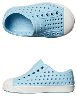 SKY BLUE WHITE KIDS TODDLER GIRLS NATIVE FOOTWEAR - 13100100-4960