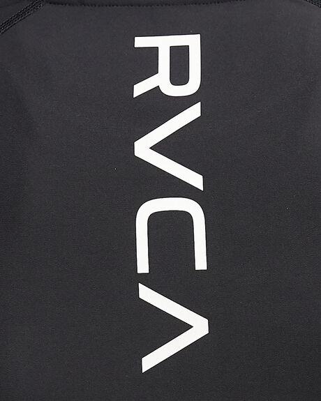 BLACK WOMENS CLOTHING RVCA ACTIVEWEAR - RV-R407882-BLK