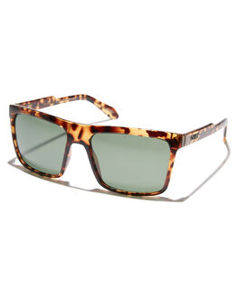 TORT GREEN MENS ACCESSORIES QUAY EYEWEAR SUNGLASSES - QM-000314-TRTGN