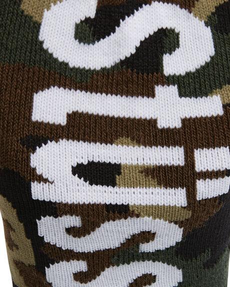 MULTI MENS CLOTHING STUSSY SOCKS + UNDERWEAR - ST787015MUL