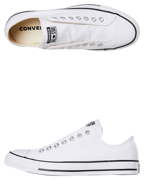 WHITE WOMENS FOOTWEAR CONVERSE SNEAKERS - SS164301CWHTW