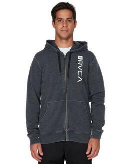 BLACK MENS CLOTHING RVCA JUMPERS - RV-R393160-BLK