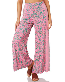 PINK WOMENS CLOTHING TIGERLILY PANTS - T392378PNK