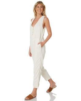 NATURAL WOMENS CLOTHING THRILLS PLAYSUITS + OVERALLS - WTS8-913ANAT
