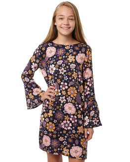 FLOWER POWER KIDS GIRLS EVES SISTER DRESSES - 9910050PRNT