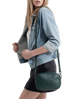 GREEN WOMENS ACCESSORIES STATUS ANXIETY BAGS + BACKPACKS - SA7256GRN