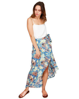 NAVY VIVIAN WOMENS CLOTHING ROXY SKIRTS - ERJWK03052BPZ9