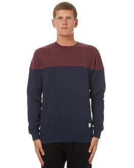 DARK INDIGO MENS CLOTHING DC SHOES JUMPERS - EDYFT03315BYJ0