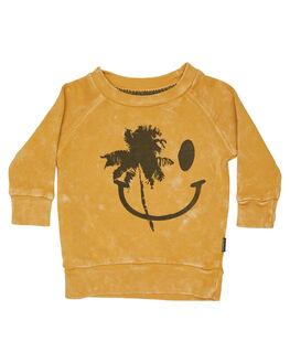 WASHED MUSTARD KIDS BABY MUNSTER KIDS CLOTHING - MI182FL03WMUS