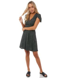 BLACK MINI SPOT WOMENS CLOTHING ROLLAS DRESSES - 12547BLK