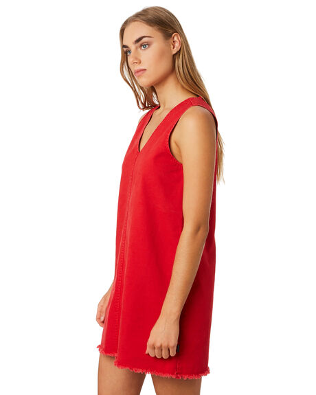 RED WOMENS CLOTHING RPM DRESSES - 9PWD02ARED
