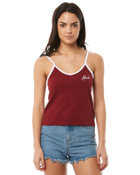 SYRAH WOMENS CLOTHING AFENDS SINGLETS - W181089SRH