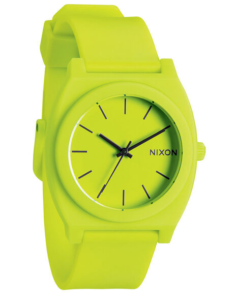 NEON YELLOW MENS ACCESSORIES NIXON WATCHES - A1191262NYEL