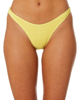 LEMON WOMENS SWIMWEAR BOND EYE BIKINI BOTTOMS - BOUND047LMN