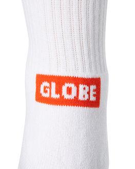 WHITE MENS CLOTHING GLOBE SOCKS + UNDERWEAR - GB71819010WHI