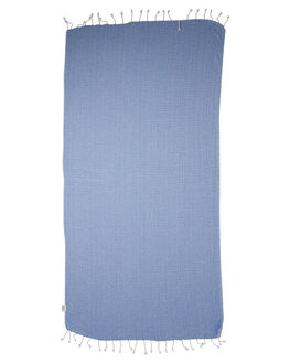 BLUE ACCESSORIES TOWELS MAYDE  - S14DUNEBLUEBLU