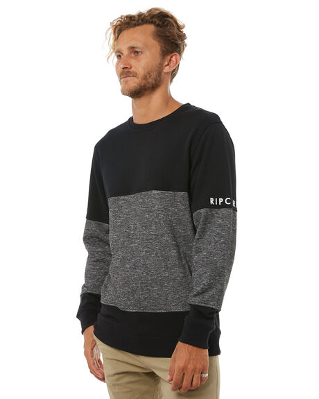 BLACK MENS CLOTHING RIP CURL JUMPERS - CFEMK10090