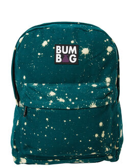 GREEN ACID SPOTS MENS ACCESSORIES THE BUMBAG CO BAGS + BACKPACKS - BP003GAS