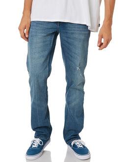 CRUZER BLUE MENS CLOTHING VOLCOM JEANS - A1931503CZB