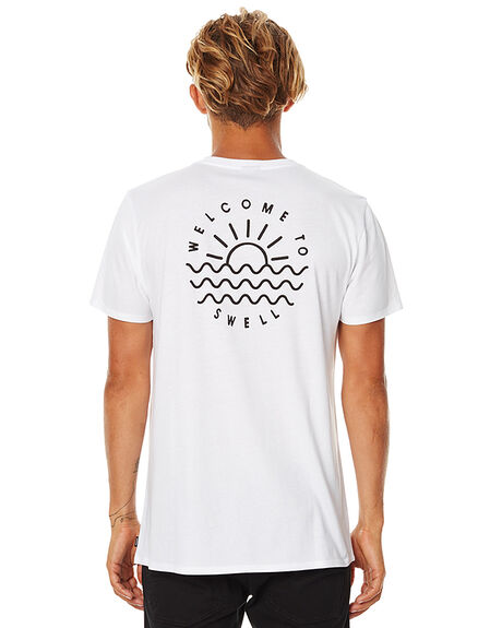 WHITE MENS CLOTHING SWELL TEES - S5162001WHT