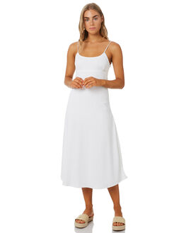 WHITE WOMENS CLOTHING ZULU AND ZEPHYR DRESSES - ZZ2602WHT