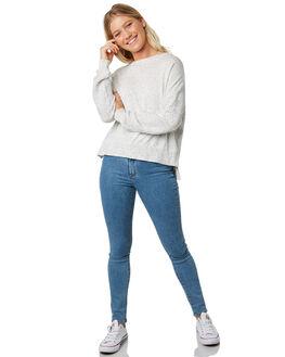 WHITE FLECK WOMENS CLOTHING ELWOOD KNITS + CARDIGANS - W914105FF