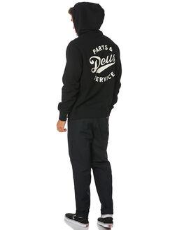 BLACK MENS CLOTHING DEUS EX MACHINA JUMPERS - DMW98020BLK