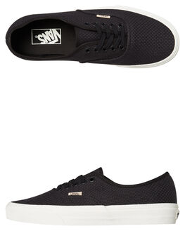 BLACK SNOW WOMENS FOOTWEAR VANS SNEAKERS - SSVNA38EMVKOBSNOWW