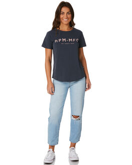 STEEL WOMENS CLOTHING RPM TEES - 8PWT01CSTE