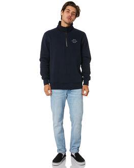 NAVY MENS CLOTHING RHYTHM JUMPERS - JUL19M-FL04-NAV