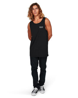 BLACK MENS CLOTHING BILLABONG SINGLETS - BB-9592502-BLK