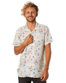 SAND MENS CLOTHING THE CRITICAL SLIDE SOCIETY SHIRTS - SS1855SAND