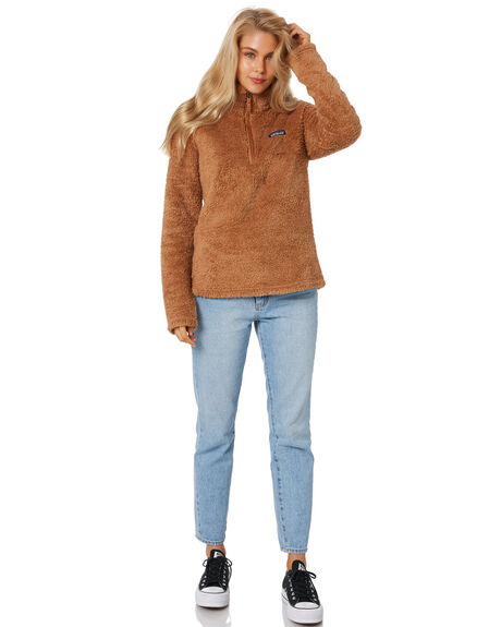 BEECH BROWN WOMENS CLOTHING PATAGONIA JUMPERS - 25235BEBR