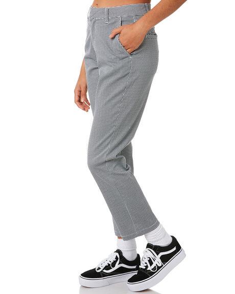 BLACK COMBO OUTLET WOMENS VOLCOM PANTS - B1131809BLC