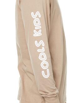 OATMEAL MENS CLOTHING BARNEY COOLS TEES - 173-MC2OAT
