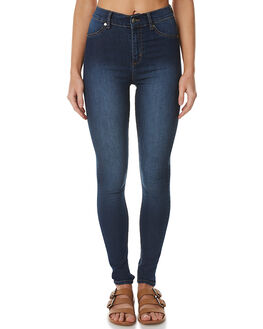 DIM BLUE WOMENS CLOTHING CHEAP MONDAY JEANS - 0336819DIM