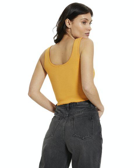 BURNT ORANGE WOMENS CLOTHING INSIGHT SINGLETS - 38972700023