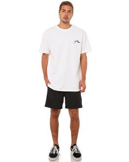 BLACK MENS CLOTHING RUSTY BOARDSHORTS - BSM1217BLK
