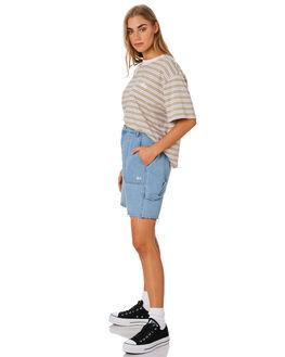 MUSHROOM WOMENS CLOTHING STUSSY TEES - ST192104MUSH