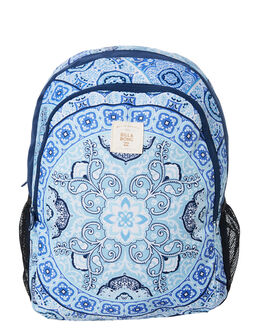 DEEP BLUE WOMENS ACCESSORIES BILLABONG BAGS + BACKPACKS - 6682022DBL
