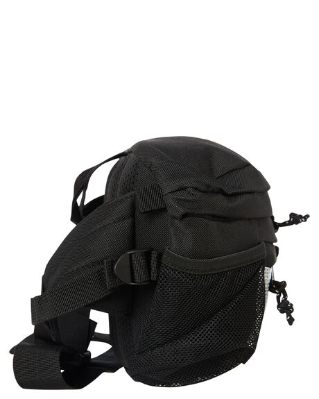 BLACK MENS ACCESSORIES OBEY BAGS + BACKPACKS - 100010116BLK