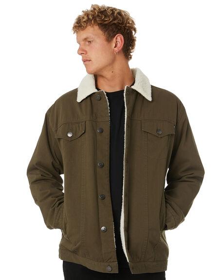 RIFLE GREEN MENS CLOTHING RUSTY JACKETS - JKM0397RFG
