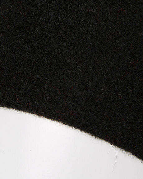BLACK WOMENS ACCESSORIES LACK OF COLOR HEADWEAR - BERETBLACK1BLK