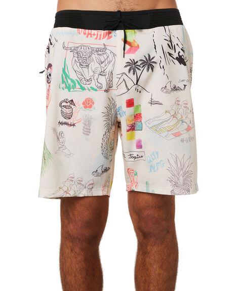 PALE IVORY MENS CLOTHING HURLEY BOARDSHORTS - AV8196109