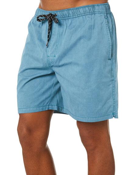 BAYOU BLUE MENS CLOTHING SWELL BOARDSHORTS - S5164233BAYBL