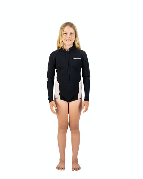 PINK BLACK BOARDSPORTS SURF COASTLINES GIRLS - 130777