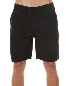 DIRTY BLACK MENS CLOTHING BANKS SHORTS - WS0057DBL