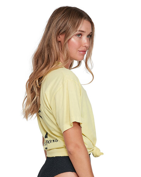 GREEN WOMENS CLOTHING BILLABONG TEES - BB-6504017-GRN